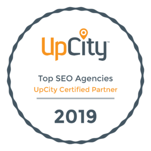 Top SEO agency in Illinois by UpCity