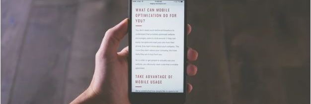 Why do websites need to be mobile friendly